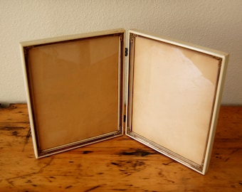 Vintage Double Tabletop Picture Frames Vintage Picture Frames 8 by 10 Picture Frames Ornate Picture Frames from The Eclectic Interior
