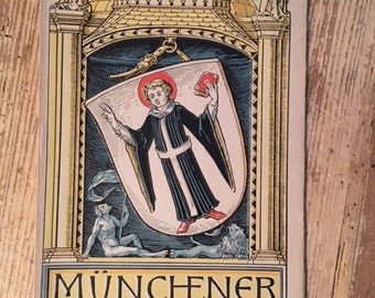 Munich Calendar 1926 Otto Hupp Heraldic Crest Coat of Arms
