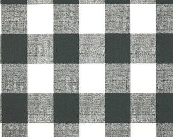 Comforter - Gunmetal Gray Buffalo Check - Twin, Full, Queen