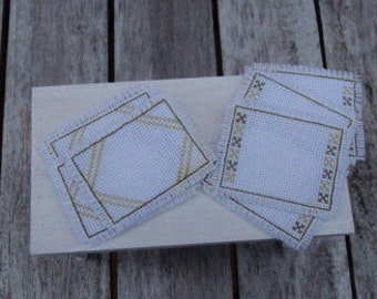 Dollhouse placemats  1:12 scale