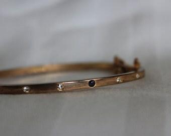 LDADPR Bracelet with Rhinestones