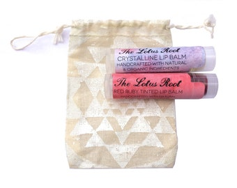 The Lip Kit  - herb infused lip balms made with natural and organic ingredients