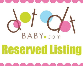 CUSTOM LISTING FOR Carly P