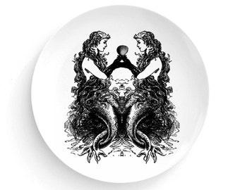 Mermaid Sirens, Melamine Plate