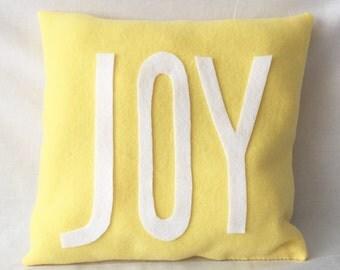 JOY decorative throw pillow