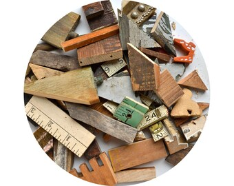 nice lot of small wood bits and pieces  from Elizabeth Rosen
