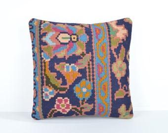 Kilim pillow cover, kp1745, Kilim Pillow, Turkish Pillow, Kilim Cushions, Kilim, Moroccan Pillow, Bohemian Pillow, Turkish Kilim