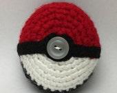 Cute Kawaii Crochet Pokemon Pokeball Crochet Cover Made to Order