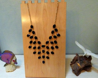 Solid Mape Jewelry Display Stand