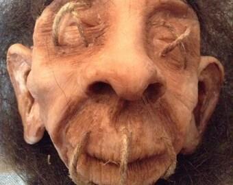 Shrunken head / Handmade shrunken head