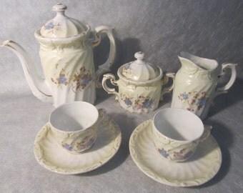 Antique Children's Tea Set