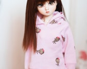 MSD Pink monkey hoodie