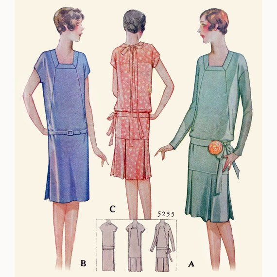 drop waist dress pattern 1920s wwwimgkidcom the
