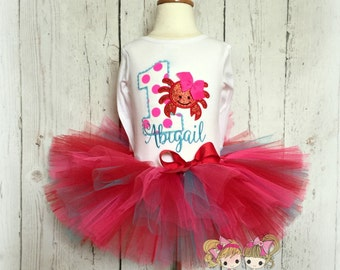 Crab birthday outfit - 1st birthday outfit - beach birthday tutu outfit - crab tutu outfit - summer themed birthday outfit for girls