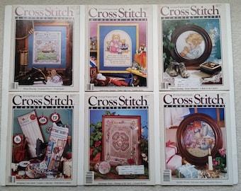 Cross Stitch & Country Craft magazine - 1989 complete set