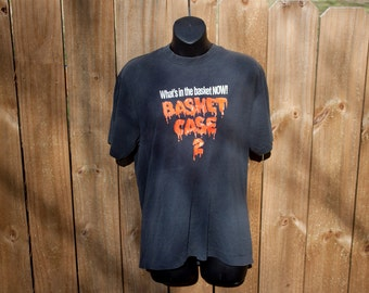 1990 Basket Case 2 shirt - Vintage horror movie tshirt - B-horror sequel t-shirt