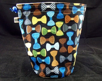 SALE R Project Bag 293 Bowties Are Cool