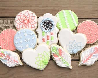 Boho Party Decorations // Boho Decor // Dreamcatcher Favors // Feather Favors // Bohemian Birthday Party // Boho Baby Shower Favors