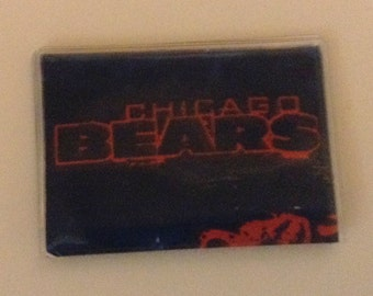 Card Case Handmade, Chicago Bears Credit Card Case, Credit Card Holder, Debit card holder