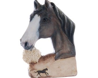 Horse Ornament personalized Christmas ornament for the horse lover in your life - made in the USA from resin - personalized ornament (287)