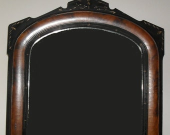 Mirror Art Deco Framed Wood and Plaster Looking Glass Antique Art Deco Frame SALE