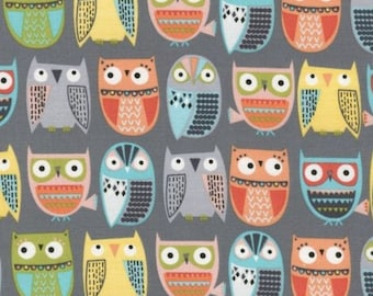 Timeless Treasures - Owls in Rows
