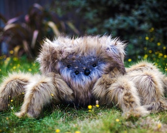 Big Fluffy Penelope - Handcrafted Limited Edition Spider Plush