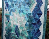 Diamond Queen Batik Quilt