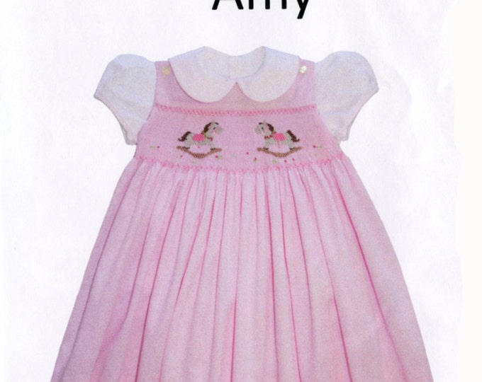 Childrens Corner Pattern / Amy Pattern /   Smocked Dress Pattern / Jumper and Blouse Pattern /   Children's Corner  13