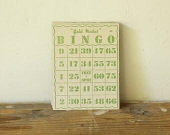Vintage Ephemera Bingo Cards