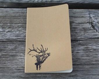 Elk Bugling Lined Journal