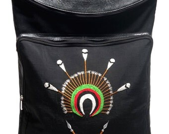 Angami tribe inspired Backpack