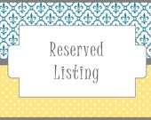 Reserved for Michelle: Printing, Materials, Assembly & Shipping for 75 customized rehearsal dinner crosswords