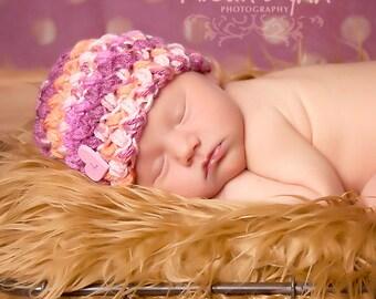 Newborn Puff Beanie