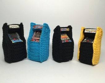Retro Video game Arcade Console Crochet PATTERN Amigurumi