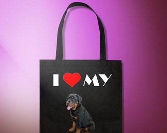 I <3 MY Dog, shopping bag, made to order!