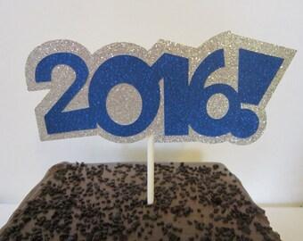 2016 Cake Topper ~ Graduation Cake Topper