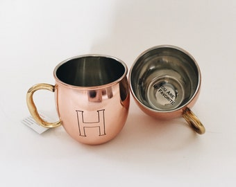 Personalized Secret Message Copper Mug