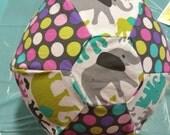 Elephants and Dots Balloon Ball