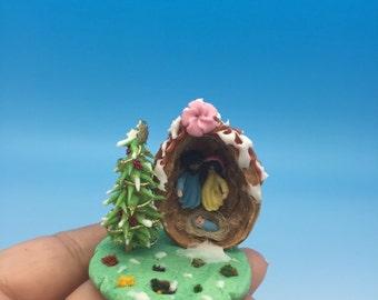 birth in a Nutshell, Nativity