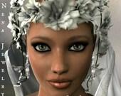 """Women's Earrings: Vintage Inspired Weddings/Bridal Earrings Pearl And Crystal """"Bella""""  By ANena Jewelry"""