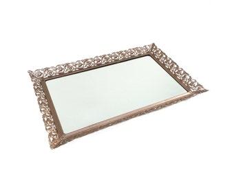 Mirrored Tray