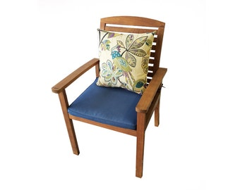 Outdoor Chair with Folk Pillow