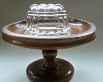 Vintage Wooden Stand Cake Stand