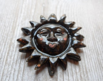 Sun Pendant Ceramic