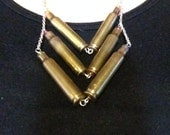 Confirmed Kills Bullet Casing Statement Necklace 14
