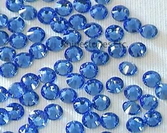 Sapphire 9ss Swarovski Elements Rhinestones 2058 flat back 1 gross (144 pieces)