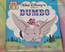 Vintage 1977 Disney's Dumbo story book (no tape)