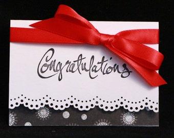 Congratulations Gift Card Holder