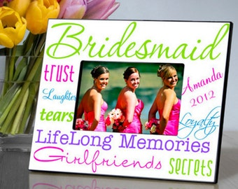 Bridesmaid Frame - Multiple Colors